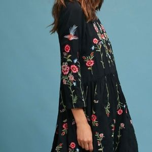Allison Embroidered Tunic Dress from Anthropologie